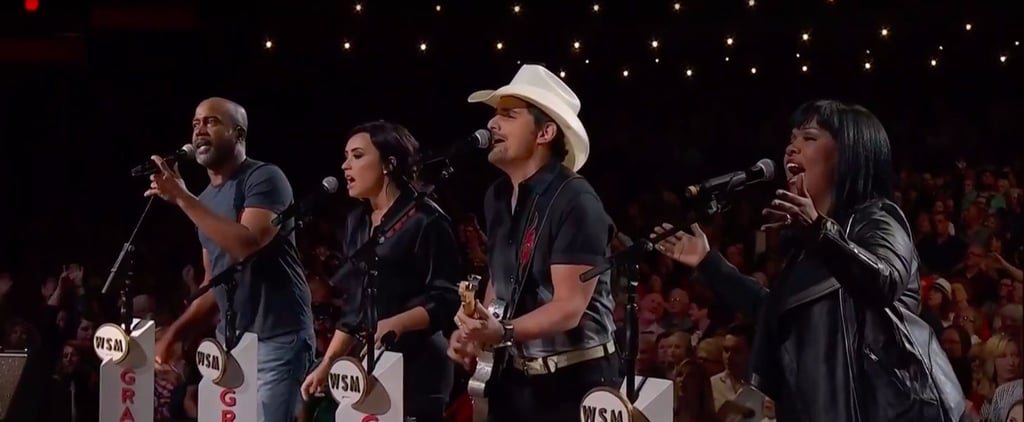 Demi Lovato and Brad Paisley Hand in Hand Performance Video