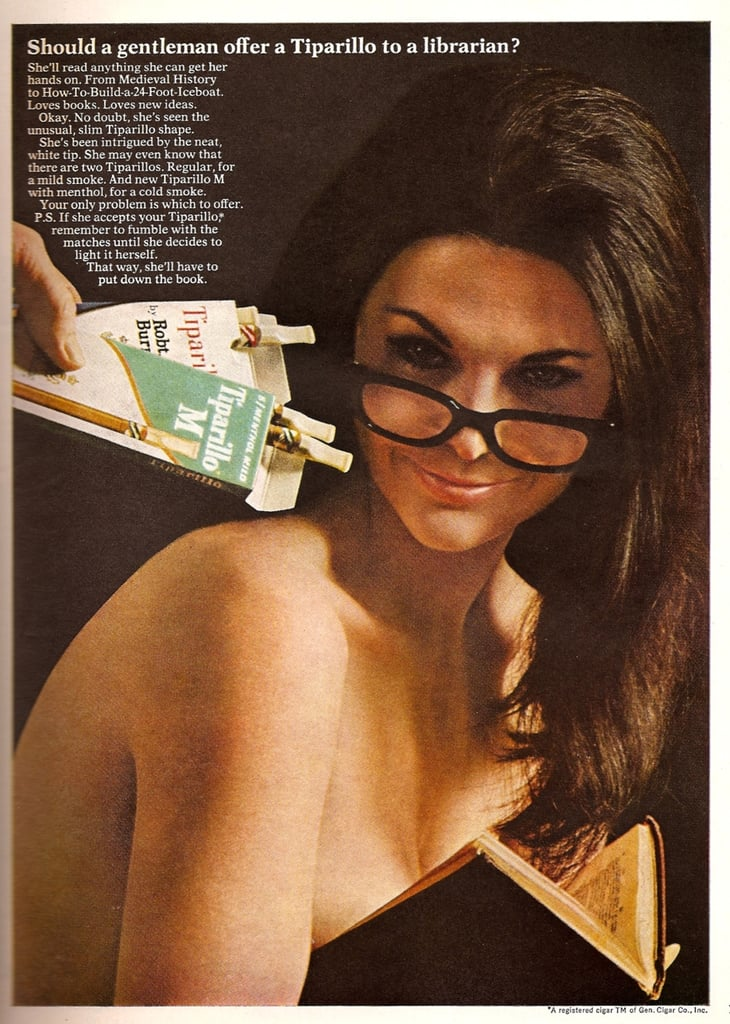 325a354c16 We see the bespectacled brunette version of the sexy librarian in ...