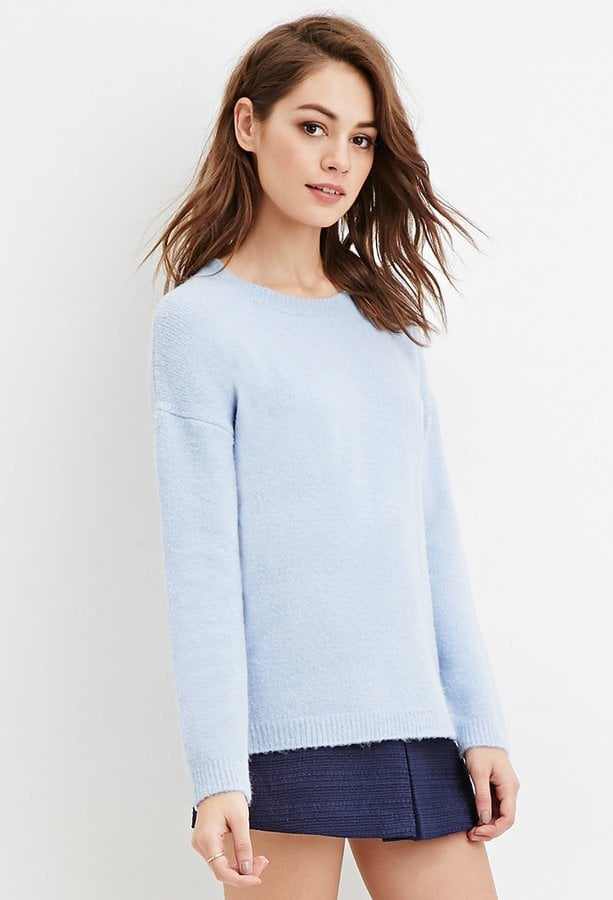 A Sweater to Pull On Over Any Outfit