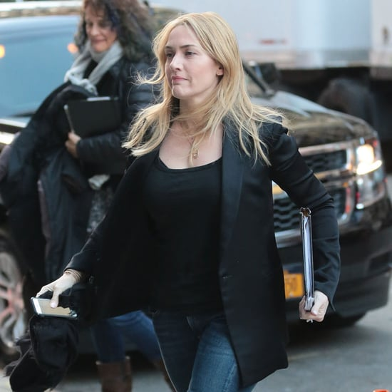 Kate Winslet Out in NYC March 2016