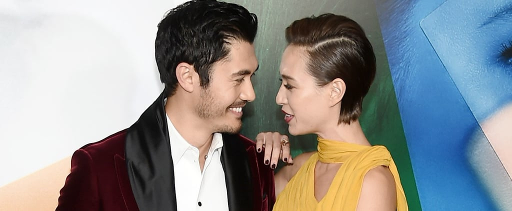 Henry Golding and His Wife Liv Lo at A Simple Favor Premiere
