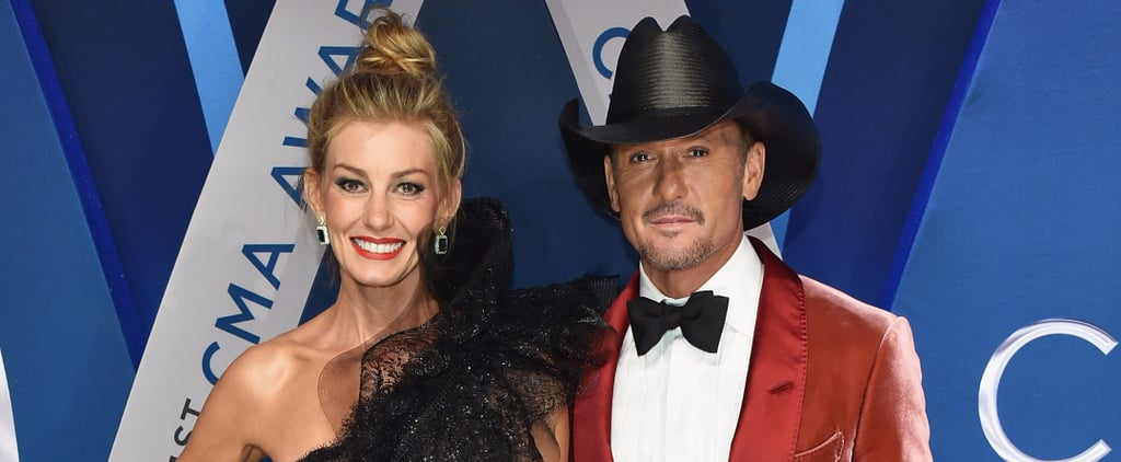 Faith Hill and Tim McGraw Served a Serious Dose of Glamour at the CMAs