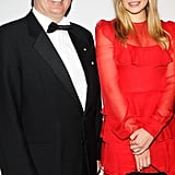 Elizabeth Olsen teamed up with Jaume Tapies at the Grand Chefs Dinner in NYC.