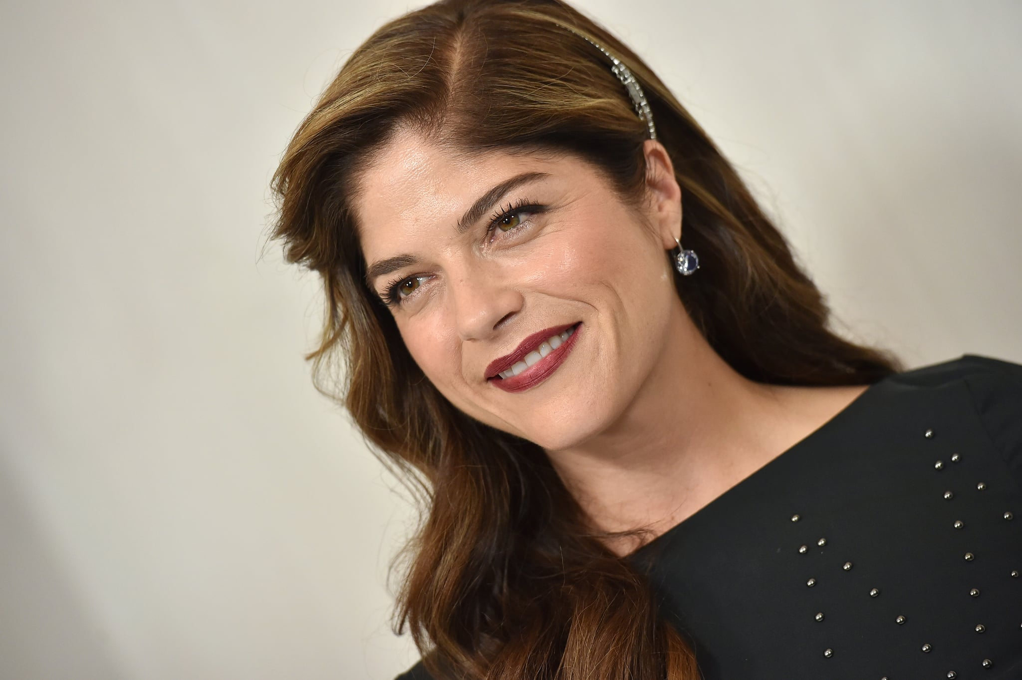 WESTWOOD, CA - OCTOBER 14:  Actress Selma Blair arrives at Hammer Museum Gala in the Garden on October 14, 2017 in Westwood, California.  (Photo by Axelle/Bauer-Griffin/FilmMagic)