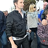 Matt and Kate left baby Bing at home to spend the afternoon with Ryder.