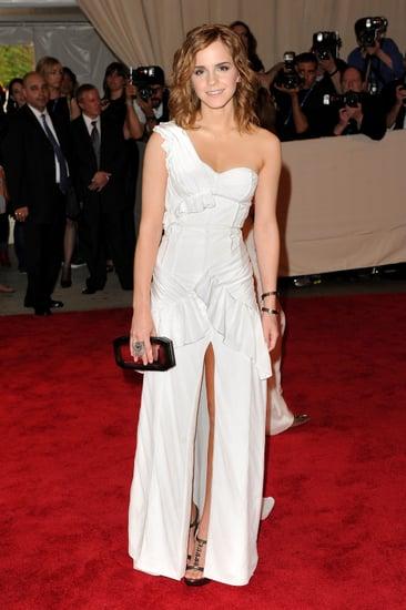 Celebrities Wearing Thigh High Split Dresses