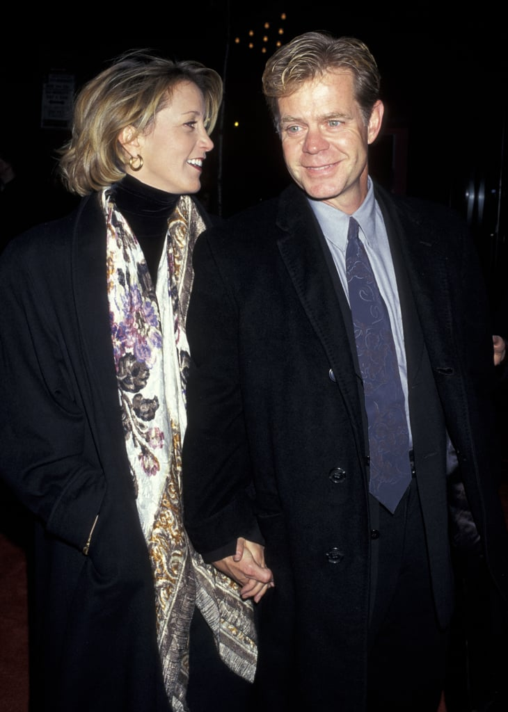 Felicity Huffman and William H. Macy in 1996