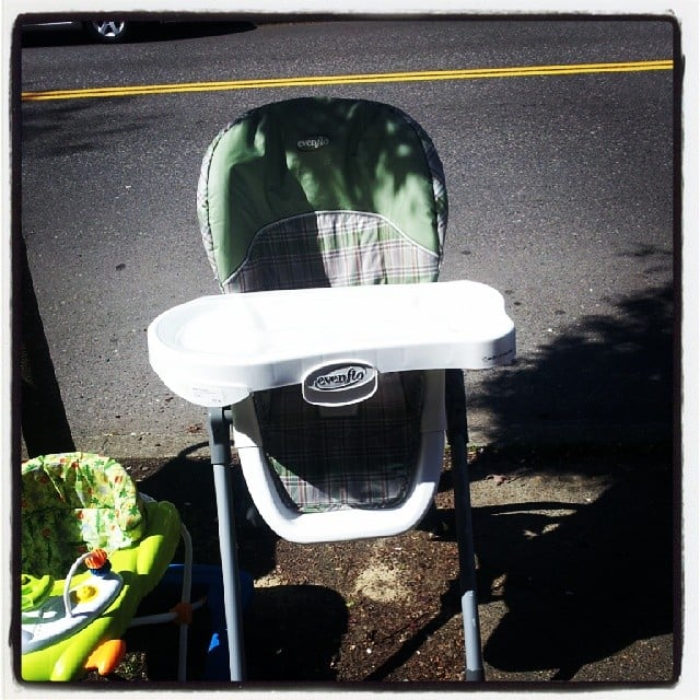 High Chairs That Don't Meet Current Standards