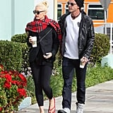 Gwen Stefani and Gavin Rossdale made a Starbucks stop in LA.
