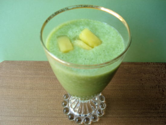 Cranberry Pineapple Green Smoothie
