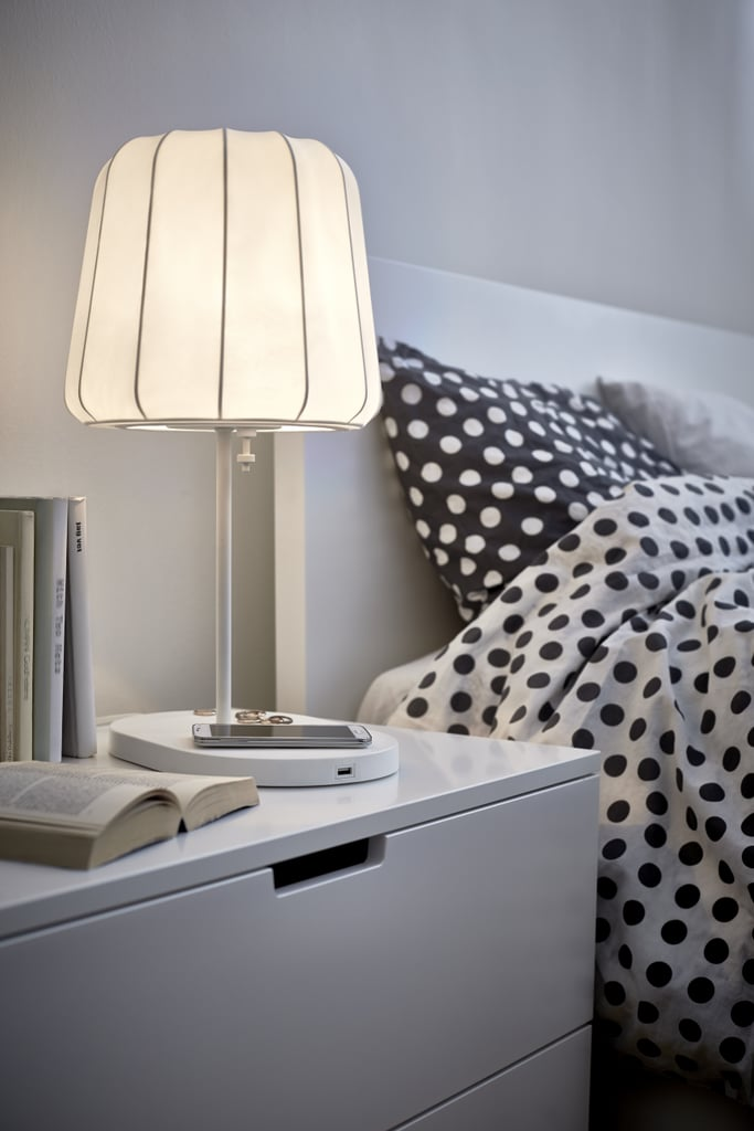 Varv Table Lamp With Wireless Charging 95 Ikea