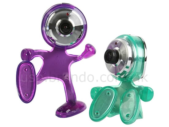 The Playful USB Happy-Kid Webcam