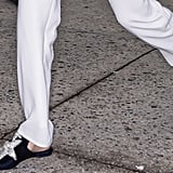 Gigi Hadid Shoes at Fashion Week Spring 2018