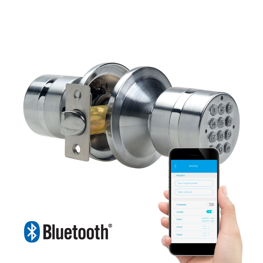 TurboLock Electronic Smart Bluetooth Keyless Door Lock