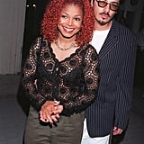 Janet Jackson and René Elizondo Jr