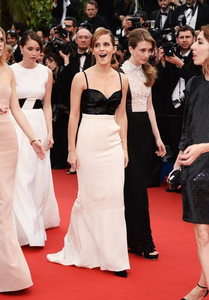 Emma Watson arrived at The Bling Ring premiere at Cannes.