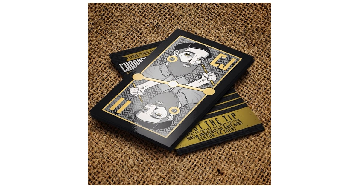 Business cards that look like playing cards? | Unique Business ...