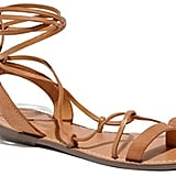 These Madewell Leather Lace Sandals ($60) supply a ton of laid-back cool for a great price.