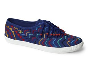 Tracy Reese For Keds Blue Fringe Sneakers: Love It or Hate It?