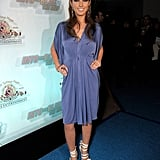Audrina at the Into The Blue Premiere