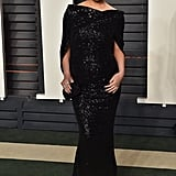 Chrissy Teigen at the 2016 Vanity Fair Oscars party.