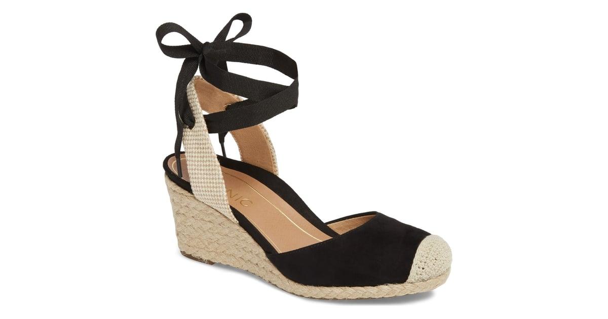 04b2b538932 Vionic Maris Orthaheel Espadrille Wedge Sandal | Pippa Middleton ...