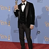 Matthew McConaughey Accepts His Globe in Familiar Form