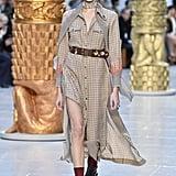 Kaia Gerber on the Chloe Fall 2020 Runway at Paris Fashion Week