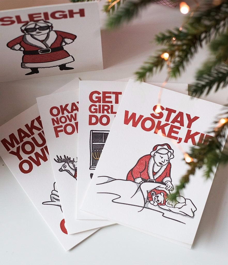 Funny Mrs. Claus Holiday Cards