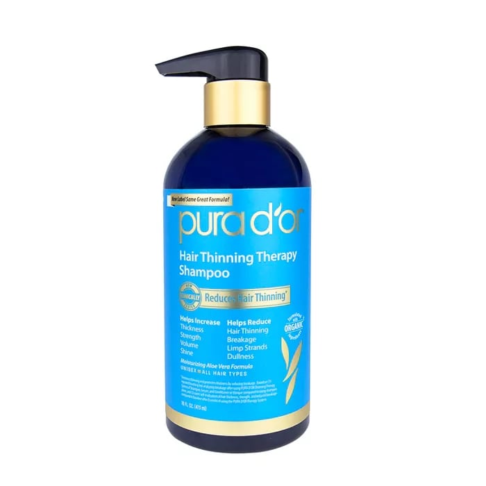Pura d'or Hair Thinning Therapy Shampoo & Conditioner