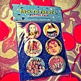 '90s Pinback Button Pack