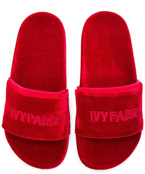 b792822e9fa Ivy Park Velvet Sandals