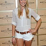 30 Rock's Katrina Bowden attended a suite party during the festivities.