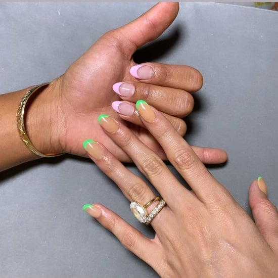 Celebrity French Manicure Trend