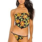 Solid & Striped Bianca Bikini Top in Mod Floral