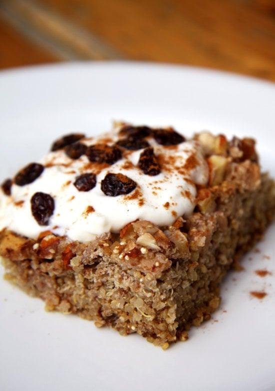 Apple Cinnamon Quinoa Bake