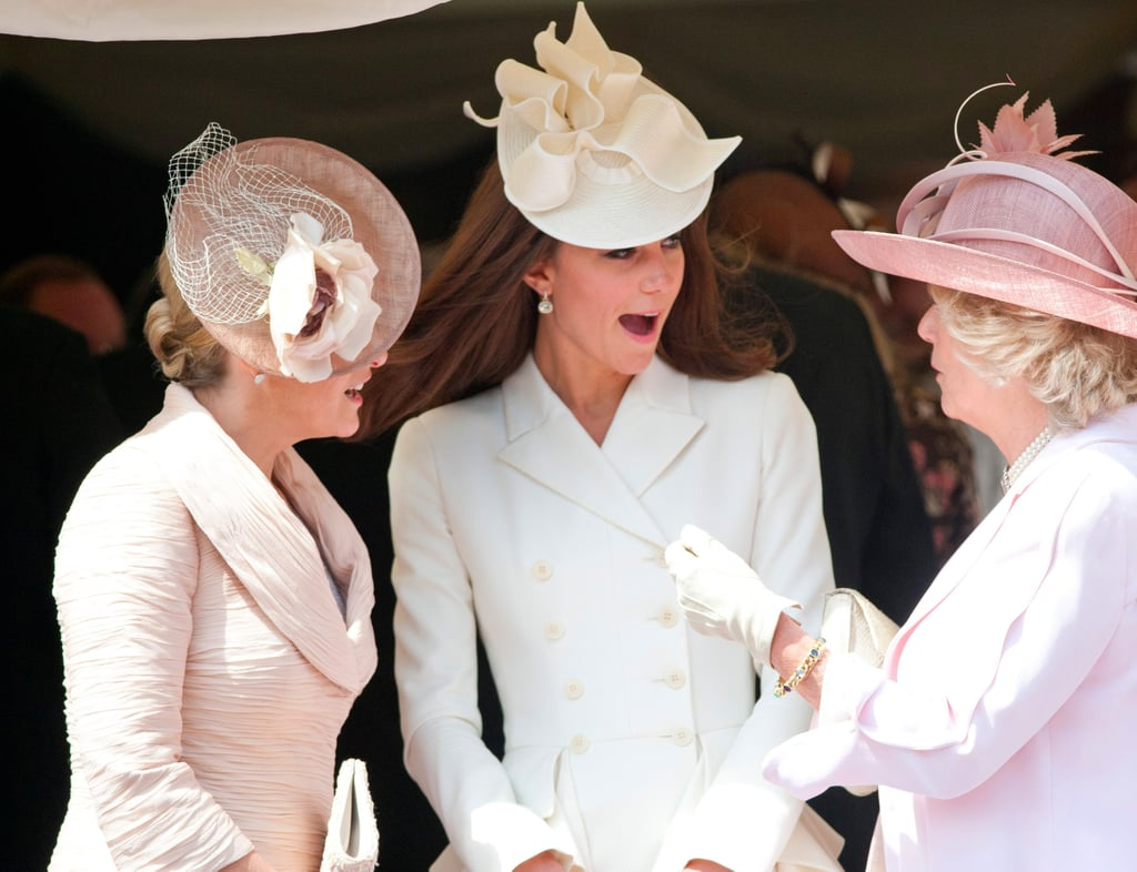 Duchess Kate's Relationships With Other Royals