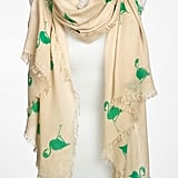 Bright cheeky prints add a dash of quirk to a more straitlaced look. Steve Madden Flamingo Scarf ($39)