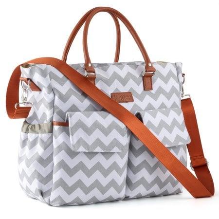 Kattee Chevron Diaper Bag