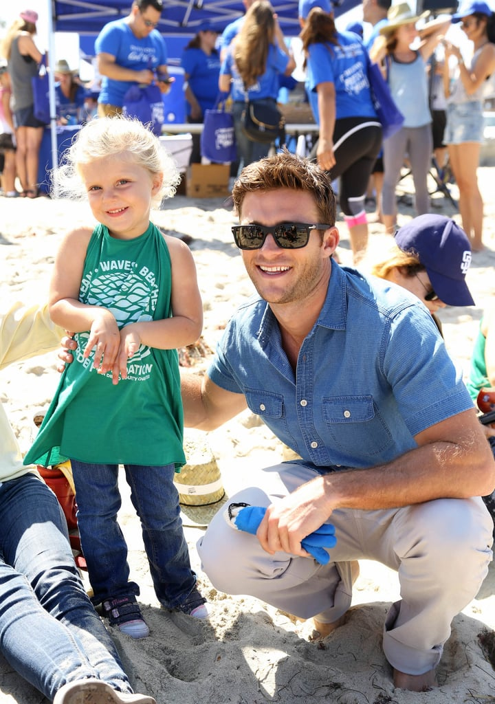 "In addition to being extremely easy on the eyes and an avid dog lover, Scott Eastwood is also working to save the oceans. The actor has teamed up with Davidoff Cool Water and National Geographic for the Pristine Seas Project to protect marine environments across the globe. On Sunday, he participated in the Ocean Beach Pier Cleanup in San Diego, and POPSUGAR got the chance to chat with him about his campaign and his latest projects, including Suicide Squad and Fast 8. Scott has been the face of Davidoff Cool Water since 2015, and in a previous statement, he said, ""The ocean has been a huge part of my life for as long as I can remember, and I'm proud to be the face of the fragrance that is synonymous with that lifestyle."" Read on for the full interview, then celebrate Scott's perfection by scrolling through his best shirtless moments."