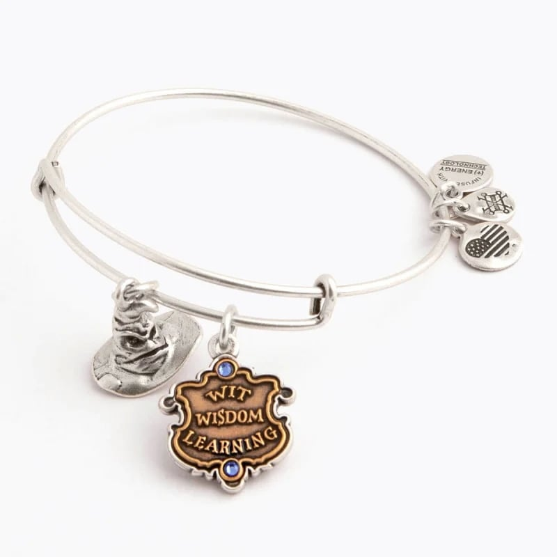 Harry Potter Ravenclaw and Sorting Hat Duo Charm Bangle
