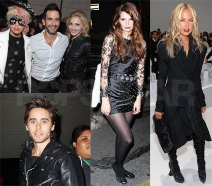 Photos of Madonna, Lindsay Lohan, Mischa Barton, Janet Jackson, Marc Jacobs, Jared Leto, Lady GaGa at Fashion Show, Afterparty