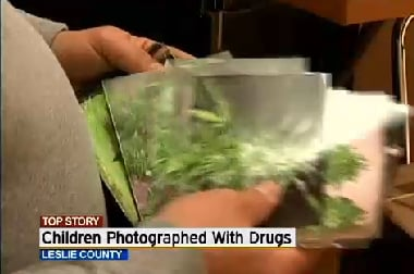 Kentucky Store Discovers Pictures of Toddlers with Marijuana Joints
