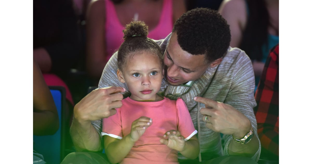 86668eb841db Stephen and Riley Curry at Kids  Choice Sports Awards 2015 ...