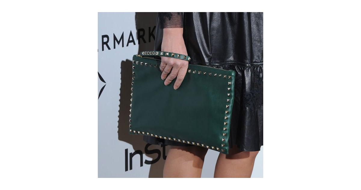 856363dd19 VALENTINO GARAVANI All Over Chain leather shoulder bag. Gallery. Previously  sold at  NET-A-PORTER · Women s Valentino Rockstud Bags
