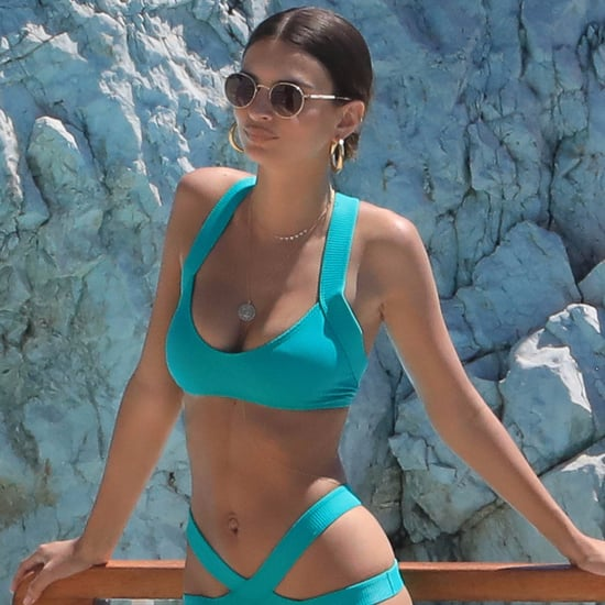 Emily Ratajkowski in a Bikini in Cannes 2017