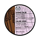 The Body Shop Wellbeing Divine Calm Serenity Milk Bath Powder, $32.95