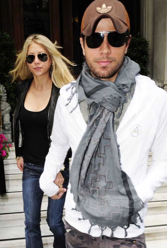 Enrique Iglesias and Anna Kournikova Pictures Together