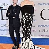 Christian Siriano and Coco Rocha