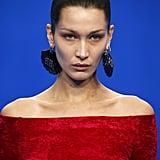 Bella Hadid's Brown Hair Colour at Paris Fashion Week